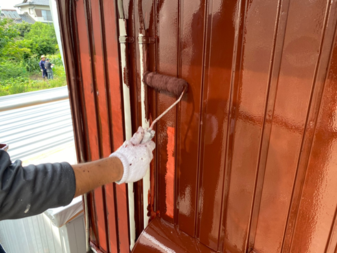 三島市外壁フッ素塗装
