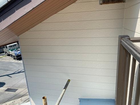 沼津ひび割れ外壁塗装後