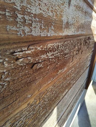 沼津市外壁塗装木部劣化