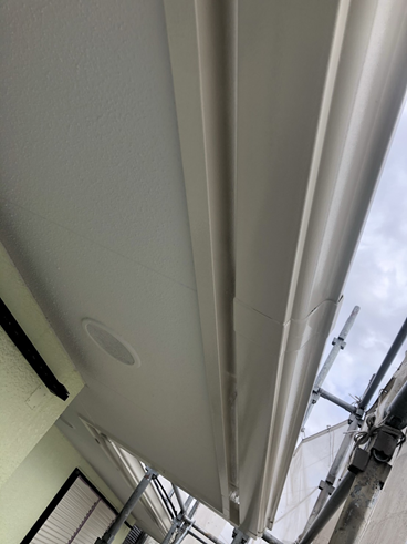 沼津屋根外壁塗装軒天
