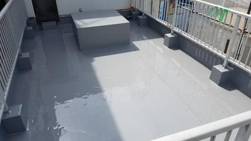 沼津市屋上防水完工