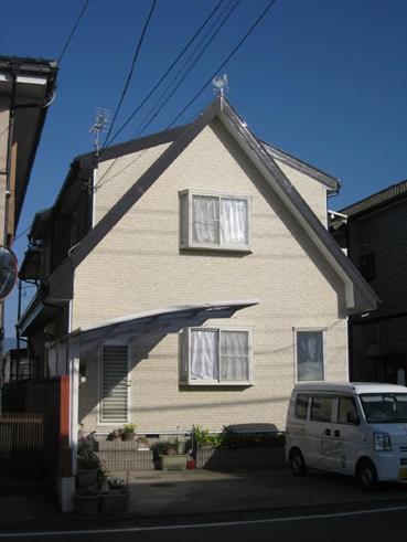 清水町外壁屋根塗装完工