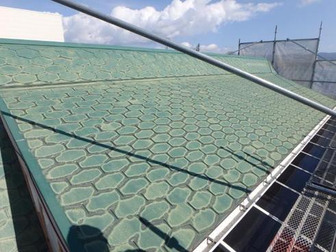 清水町屋根塗装前