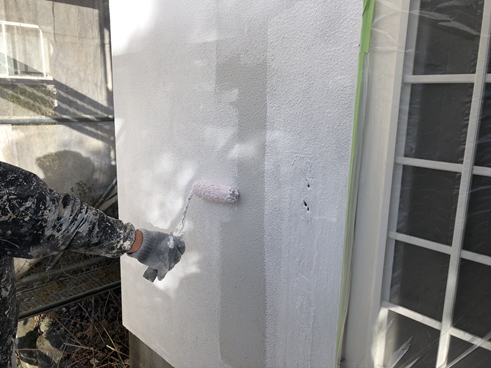 裾野市外壁塗装下塗り