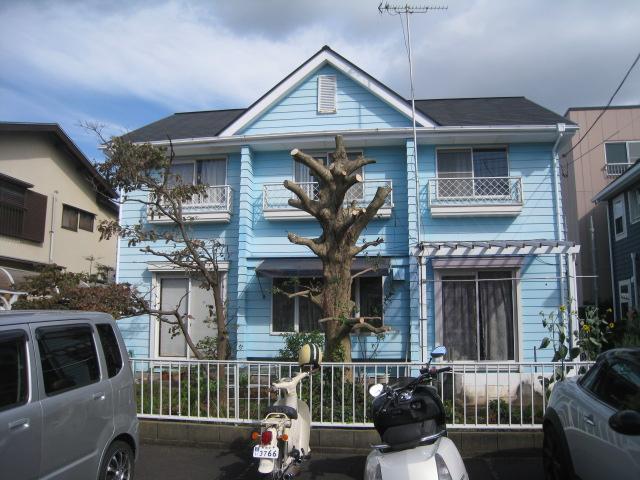 沼津市外壁屋根塗装前