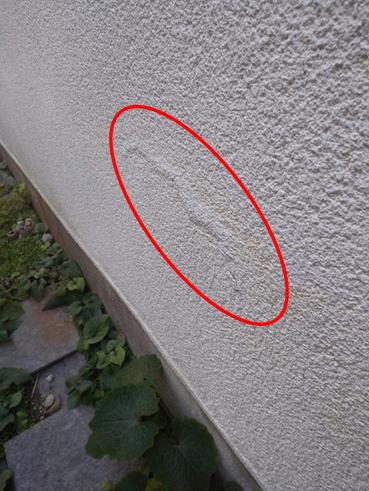 沼津市外壁浮き