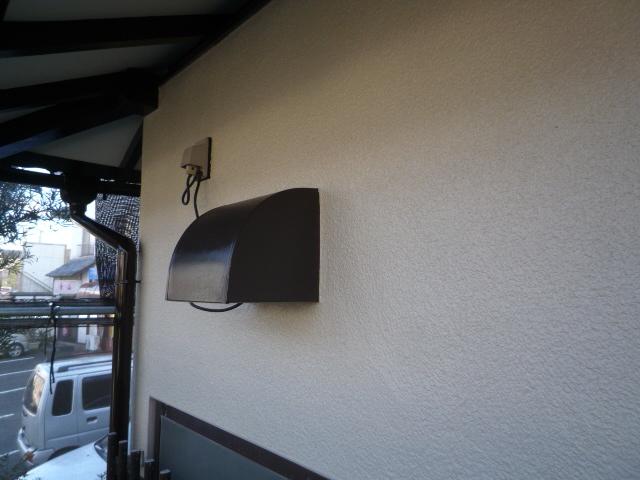 沼津市外壁塗装換気フード塗装