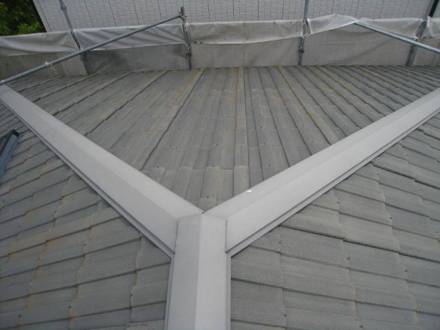 三島市屋根外壁塗装前