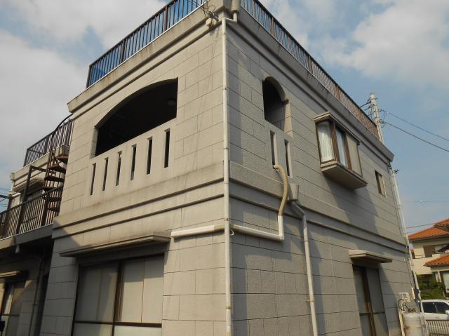 沼津市外壁塗装施工前