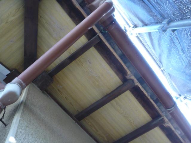 沼津市外壁塗装軒天垂木塗装