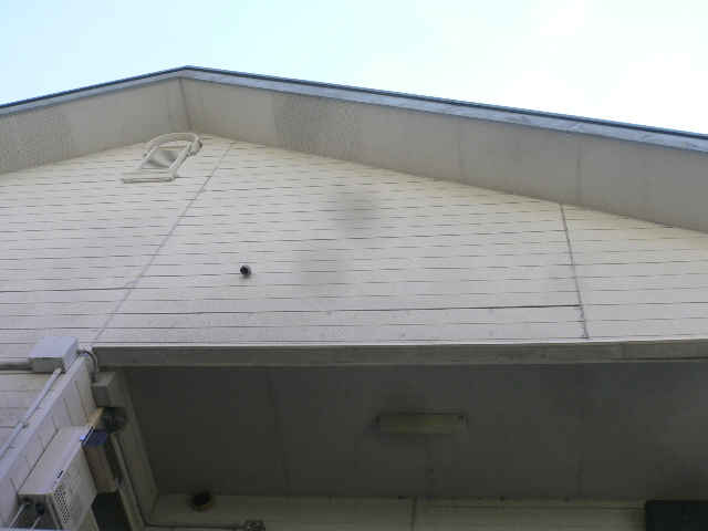 外壁汚れ木造アパート