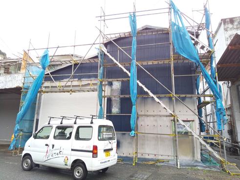 沼津倉庫外壁塗装