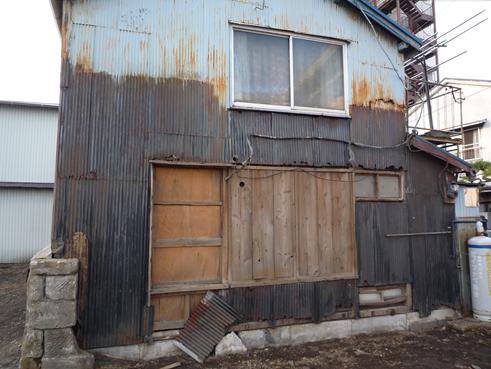 沼津トタン外壁劣化