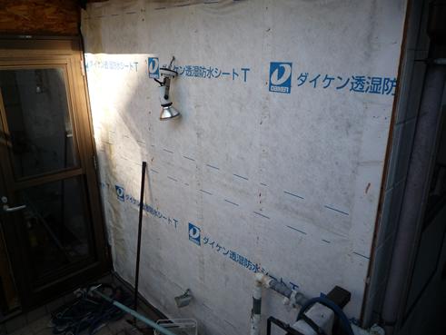 沼津市外壁サイディング撤去