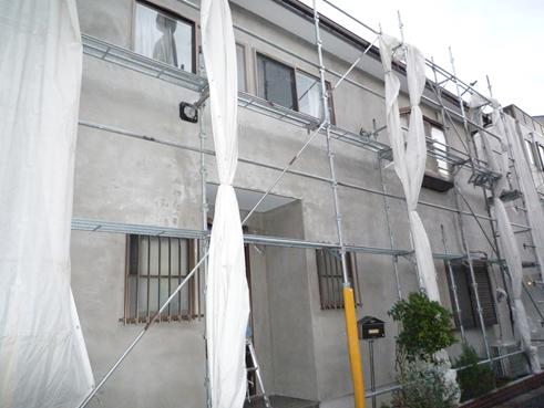 沼津市外壁改修工事