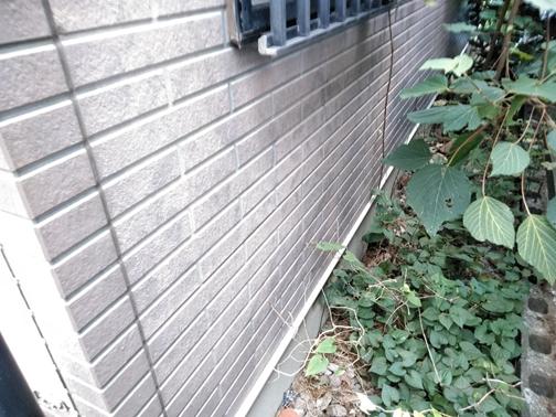 清水町外壁劣化