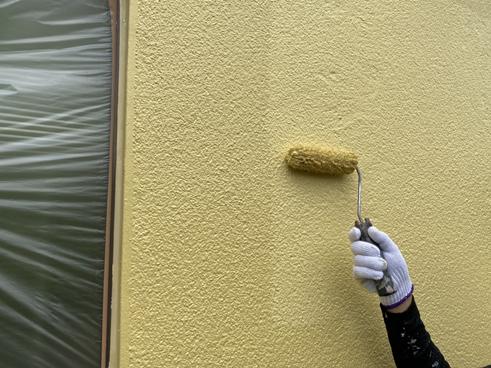 沼津外壁上塗り