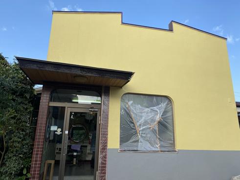 沼津店舗外壁塗装後